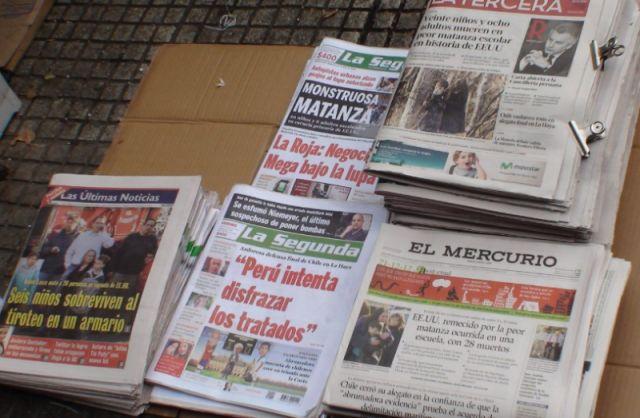 krantekoppen van Newtown