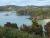 Blik op Bathin Beach en Oban